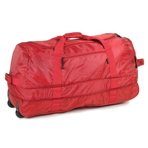 Сумка дорожная Foldaway Wheelbag 105/123 red Members