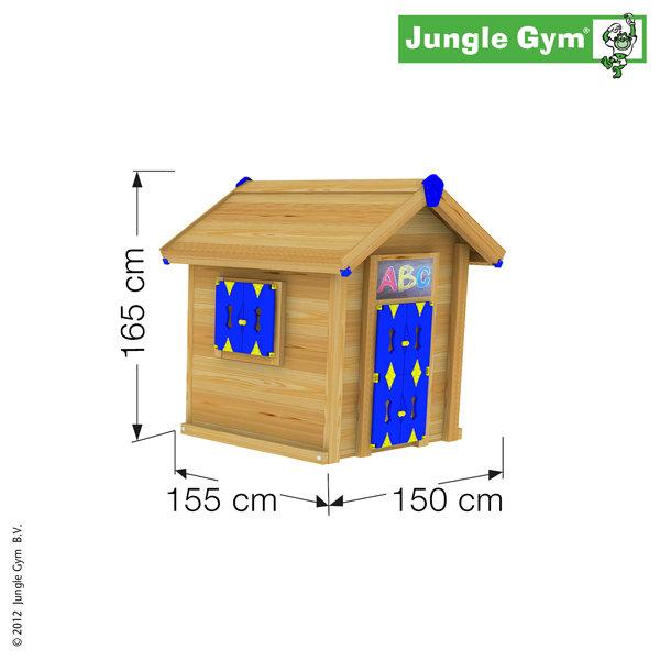 Детский игровой домик своими руками деревянный