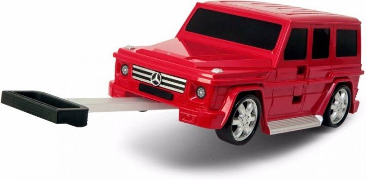 Чемодан машинка Mercedes-Benz G-Class Red 91009W-RED Ridaz