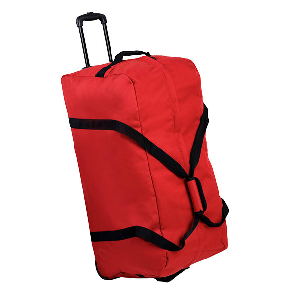 Сумка дорожная Holdall On Wheels Large 106 red Members