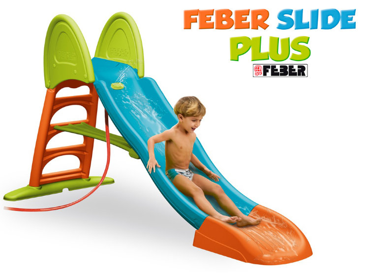 Горка FEBER SUPER MEGA FOLDABLE SLIDE