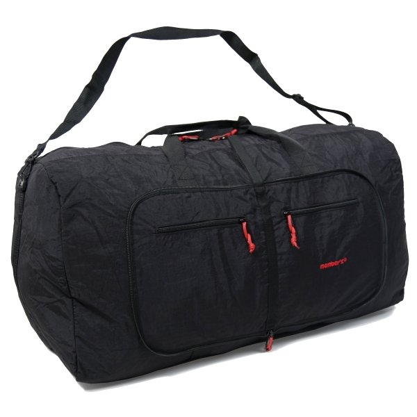 Сумка дорожная Holdall Ultra Lightweight Foldaway Large 71 black Members