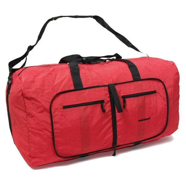 Сумка дорожная Holdall Ultra Lightweight Foldaway Large 71 red Members