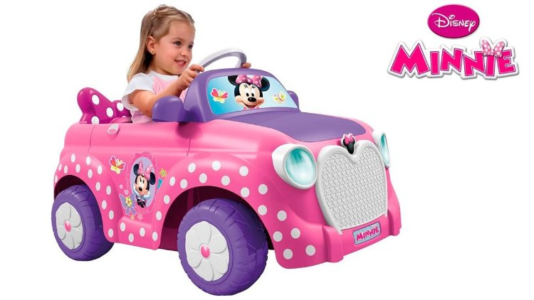 Электромобиль MINNIE CAR FEBER