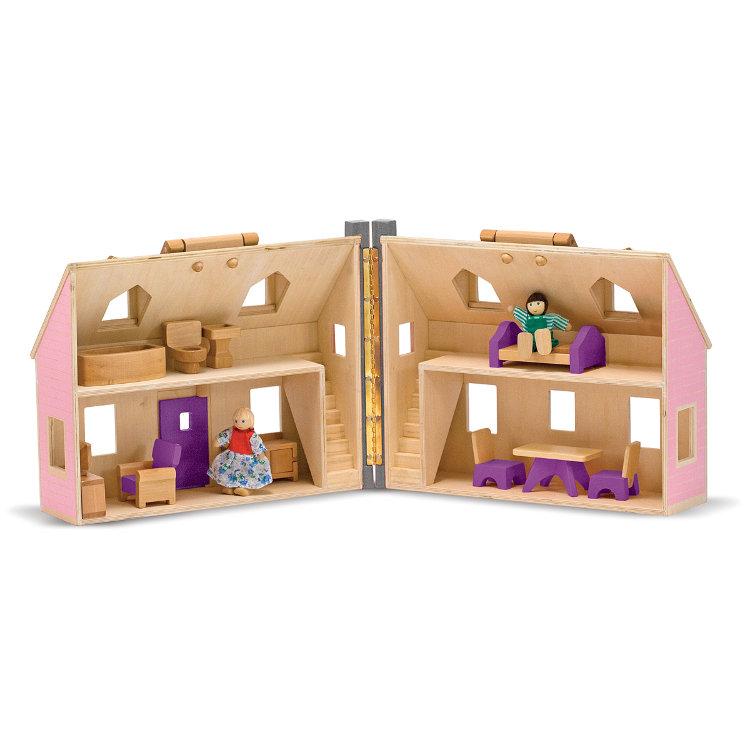 Кукольный домик раскладной