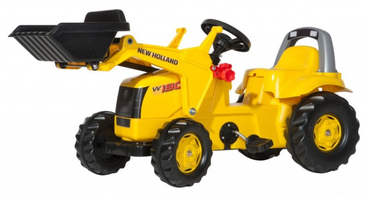 Rolly Toys - Трактор Kid New Holland Construction, 025053