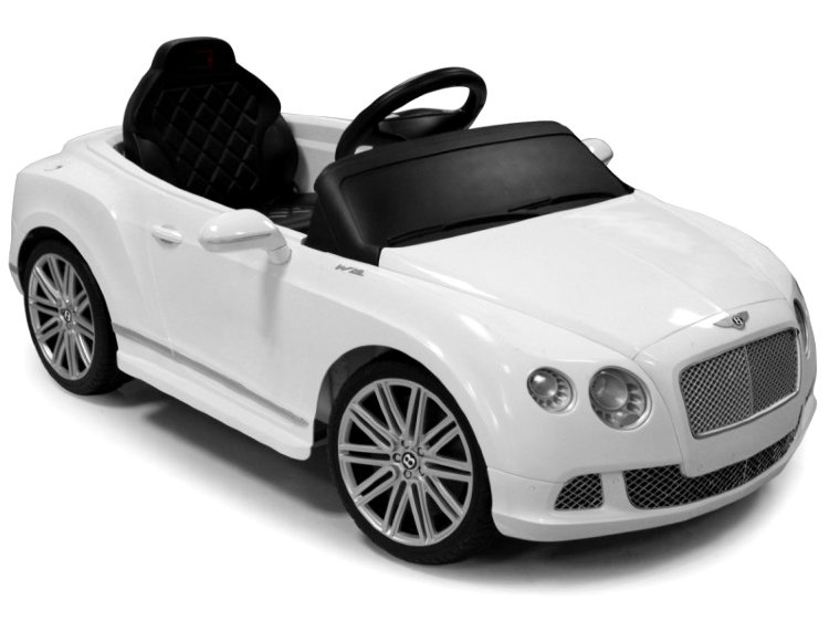 RASTAR Электромобиль Bentley GTC белый, 82100