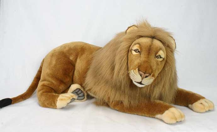Мягкая игрушка большой лев