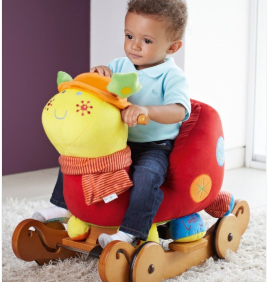 Качалка Rocking Animal - Talking Rock n Ride Lotty Ladybird, 644982701