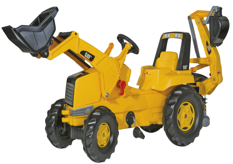 Rolly toys Трактор RollyJunior CAT 813001