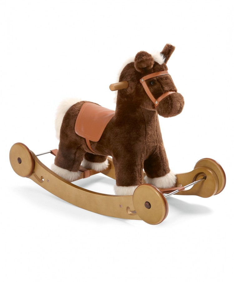 Качалка-лошадка Rocking Horse - Rock & Ride Cocoa, 6661J87001375